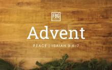 Advent - Peace - Isaiah 9:6-7