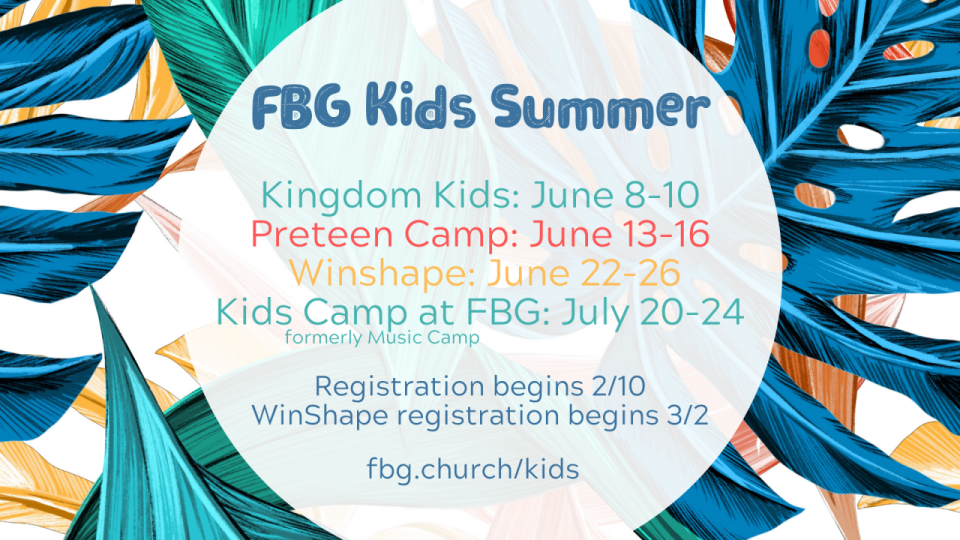 Kids Ministry Sign Up
